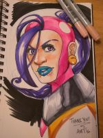 Galaxy Girl classic colors by amtaylor12