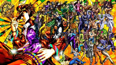 JJBA: ASB Custom Wallpaper by yoink13