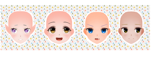 CM3D2 Faces Pack 1 by garbagegobble