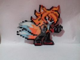 Dark Tails - Hama beads by SilverAlchemist09