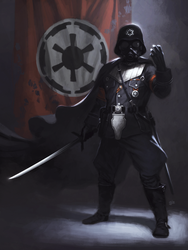 Star Wars redesign: Darth Vader by giorgiobaroni
