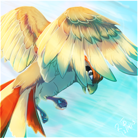 Day 8 - Pidgeotto by Rae-elic