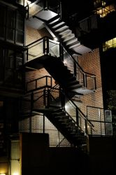 Stairs at Night by mccann