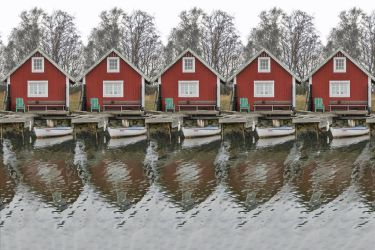 Fishing Cottages by sulimanda