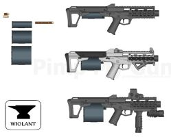 Wiolant Suppressed SMG by Luke-Man