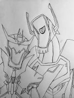 Shockwave + Soundwave  by GhostFreak-Artz
