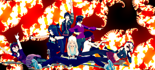 .:: Death Parade Masters ::. by FangirlPhantomhive