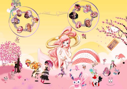 The Pink haired's World by FrutiOrient