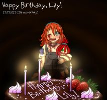 Happy B-Day, Lily! (3st anniversary) by NaughtyKittyDV-1992