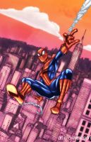 My name is Peter Parker and I'm Spiderman by Art-is-a-Explosion