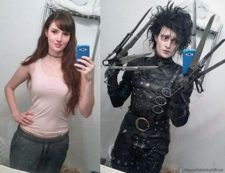 Edward Scissorhands Crossplay by AlysonTabbitha