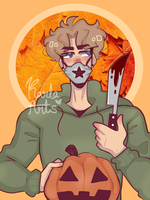 Knives in October by KarlaArts