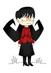 Don't Starve Willow Chibi by Lazy-Black-Kitty