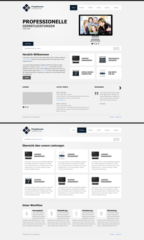 Group Website clean by callofsorrow