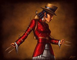 Steampunk X-23 by JamesDenton