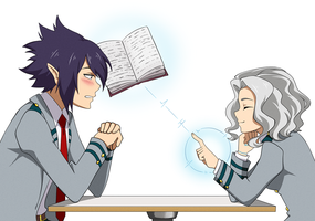 PPCom - BNHA - Tamaki and OC Ahimi #1 by Venera-Taro
