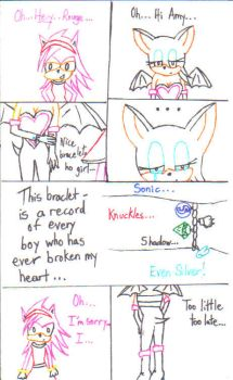 Rouge and Amy - Hatred by Vaders-pink-slippers
