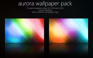 Aurora Wallpaper Pack by wojtekmaj