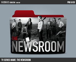 The Newsroom Folder ICON by kasbandi