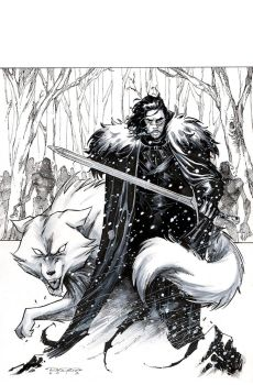 Jon Snow by KharyRandolph