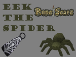 Eek The Spider Poster by domobfdi
