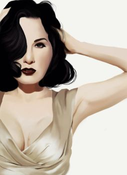 Dita by HannahWhoDraws