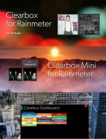 Clearbox for Rainmeter [v1.1 | 5/May/2014] by Redsaph