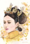 The Queen - Story Of Yanxi Palace Watercolor by Chenyi87