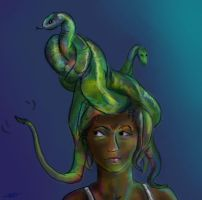 Gorgon Hat by initialaitch