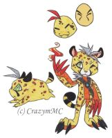 Custom Digimon Adoptable ++ WaywardPlatypus ++ by CrazymMC