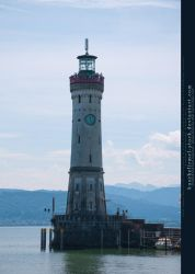 Bodensee - Lighthouse Lindau by kuschelirmel-stock