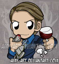 Hannibal - Hannibal by amy-art