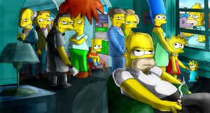 The Simpsons by d-latt
