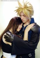 Solace - Cloud and Tifa by lonelymiracle