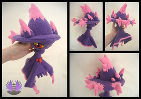 Mismagius plush - Pokemon by ArtesaniasIris