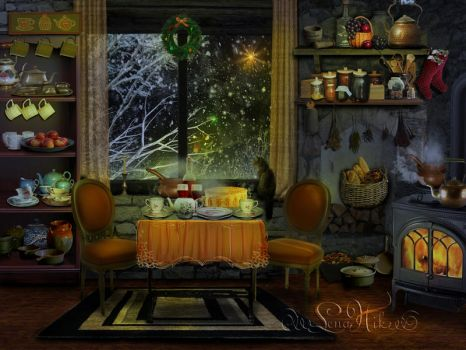 Christmas Eve by LenaNik