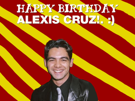 Happy Birthday Alexis Cruz! by Nolan2001