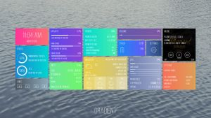 Gradient 1.0 - for Rainmeter by nik2104