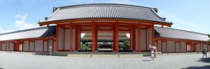 Imperial Palace Shomeimon Gate by juanmah
