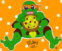 Mikey by MegaRaphael17