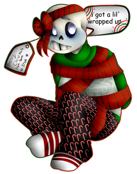 Merry Christmas From Sans by Atomic52