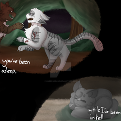 Youve been asleep- by AmbersDraws