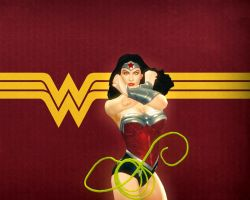 Unmasculinized Wonder Woman by SexySloth