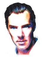 Telegraph Photoshoot - Benedict Cumberbatch by Shuploc