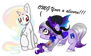 .:Collab:. [[OMG Your a alicorn!!]] by AngelLightYT