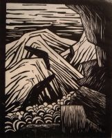 woodcut by fileranipo