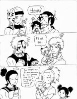 Naruto: team 12 first words by Bellette