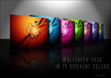 Vector-C4D WallpaperPack by Tamilia