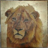 Golden Lion by unknown-nobody