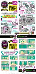 How to draw INTERIORS tutorial by STUDIOBLINKTWICE